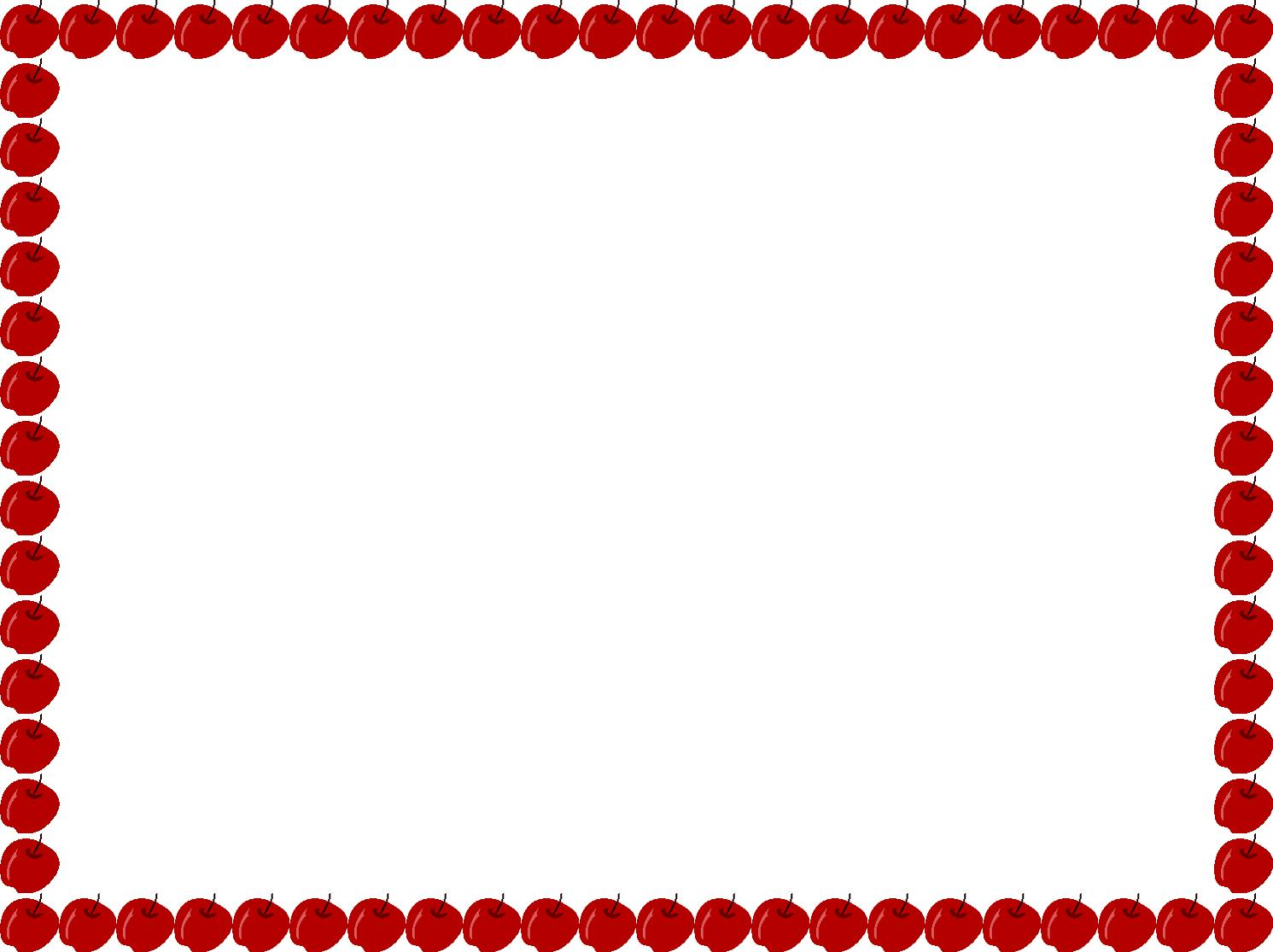 Apple clipart borders. Free download clip art