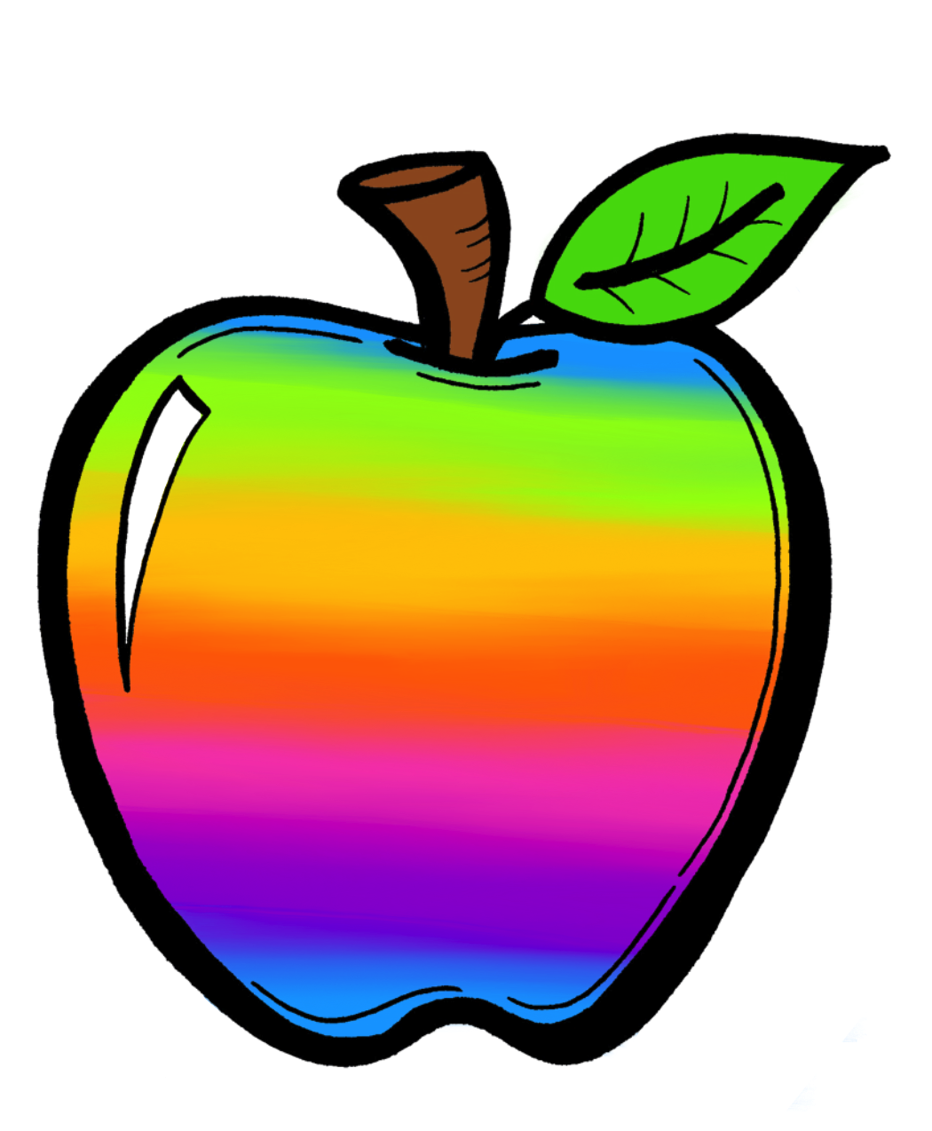 Apple flashcard