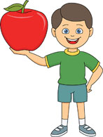 Search results for clip. Apple clipart character