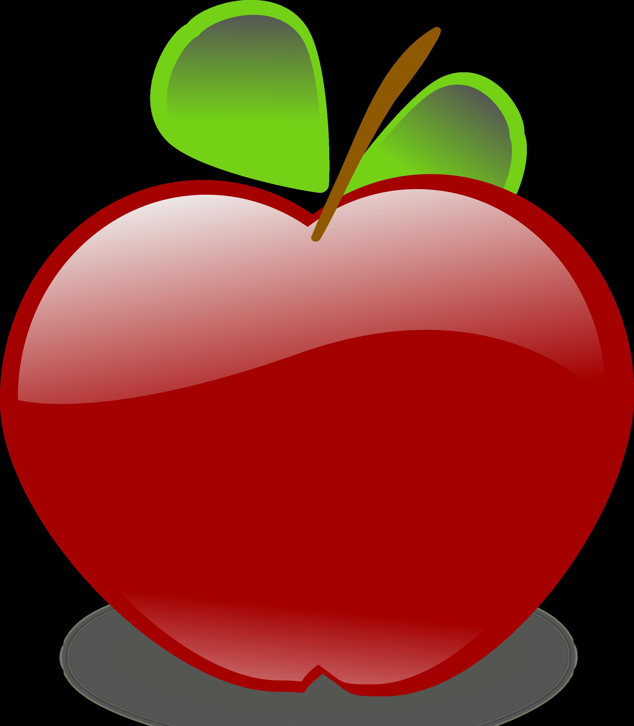 Big image png. Clipart apple cartoon