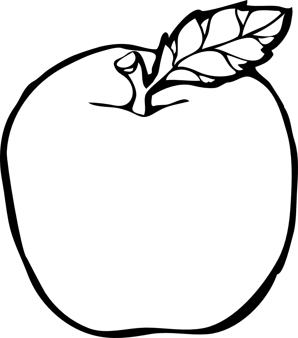 Apple free images clipartix. Clipart backpack black and white