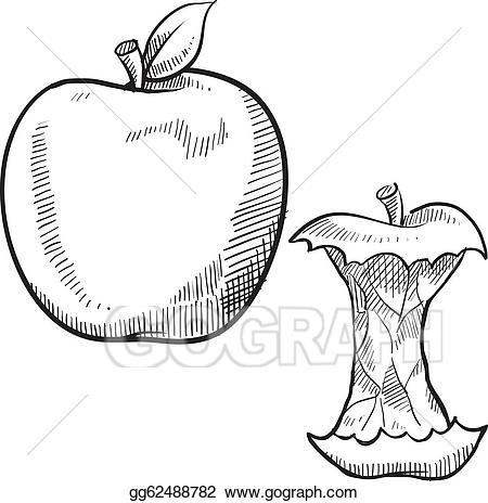 Clip art vector apple. Apples clipart doodle