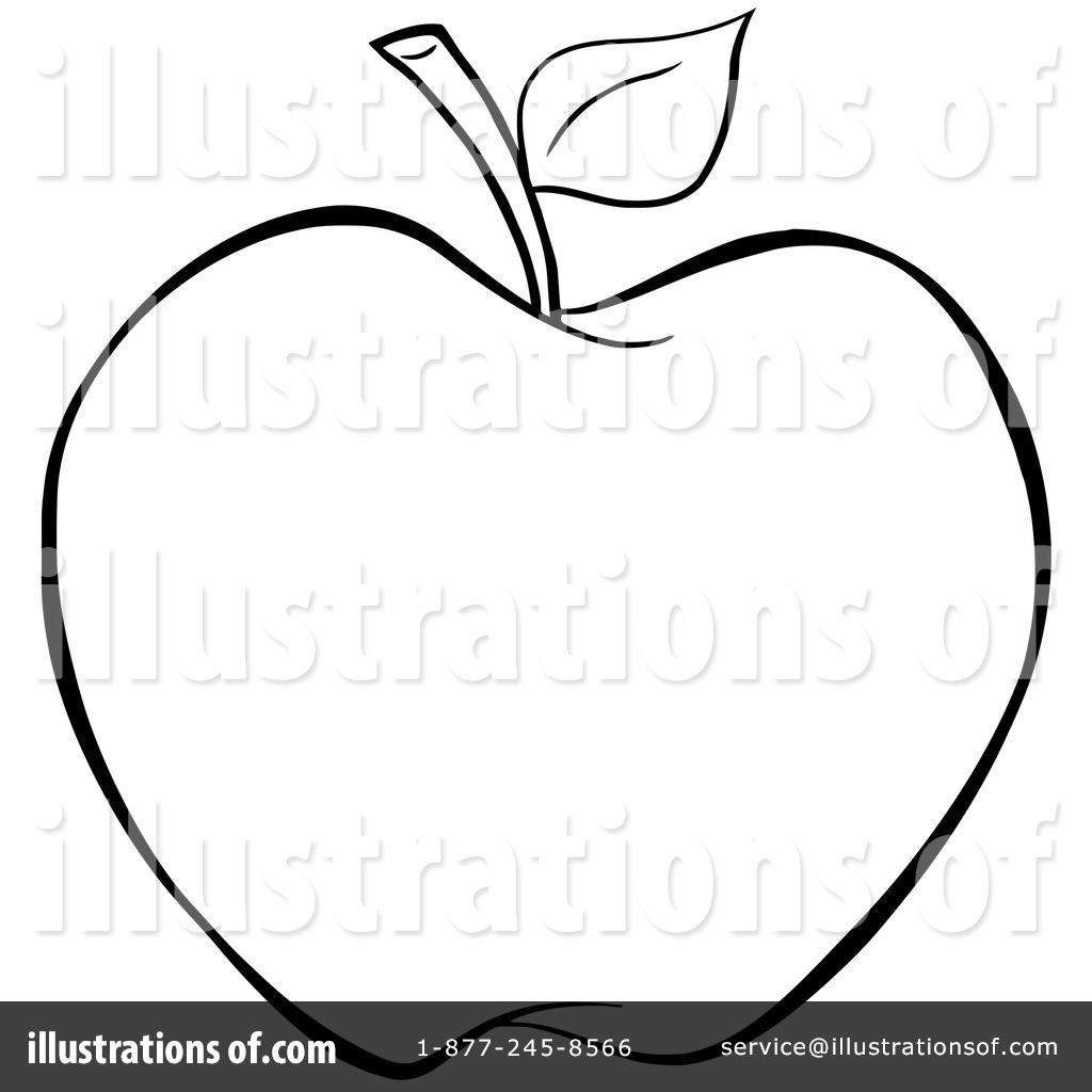 By hit toon royaltyfree. Apple clipart illustration
