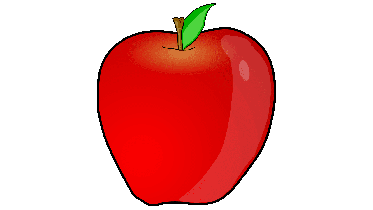 fruit free names. Clipart apple name