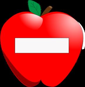Apple clipart name. Tag clip art at