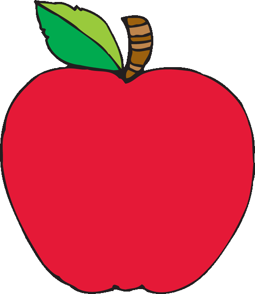 Free apple cliparts download. Worm clipart transparent background
