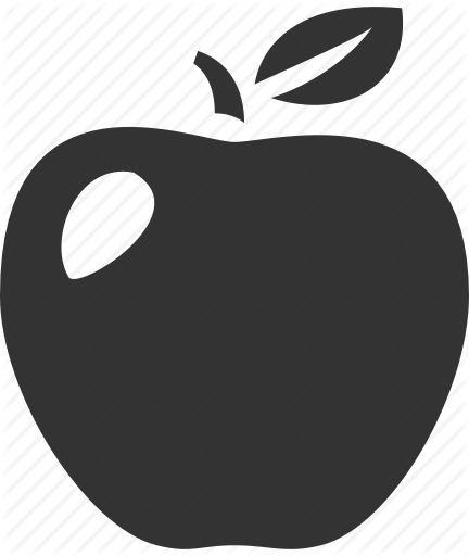 Apple icon png. School and education by