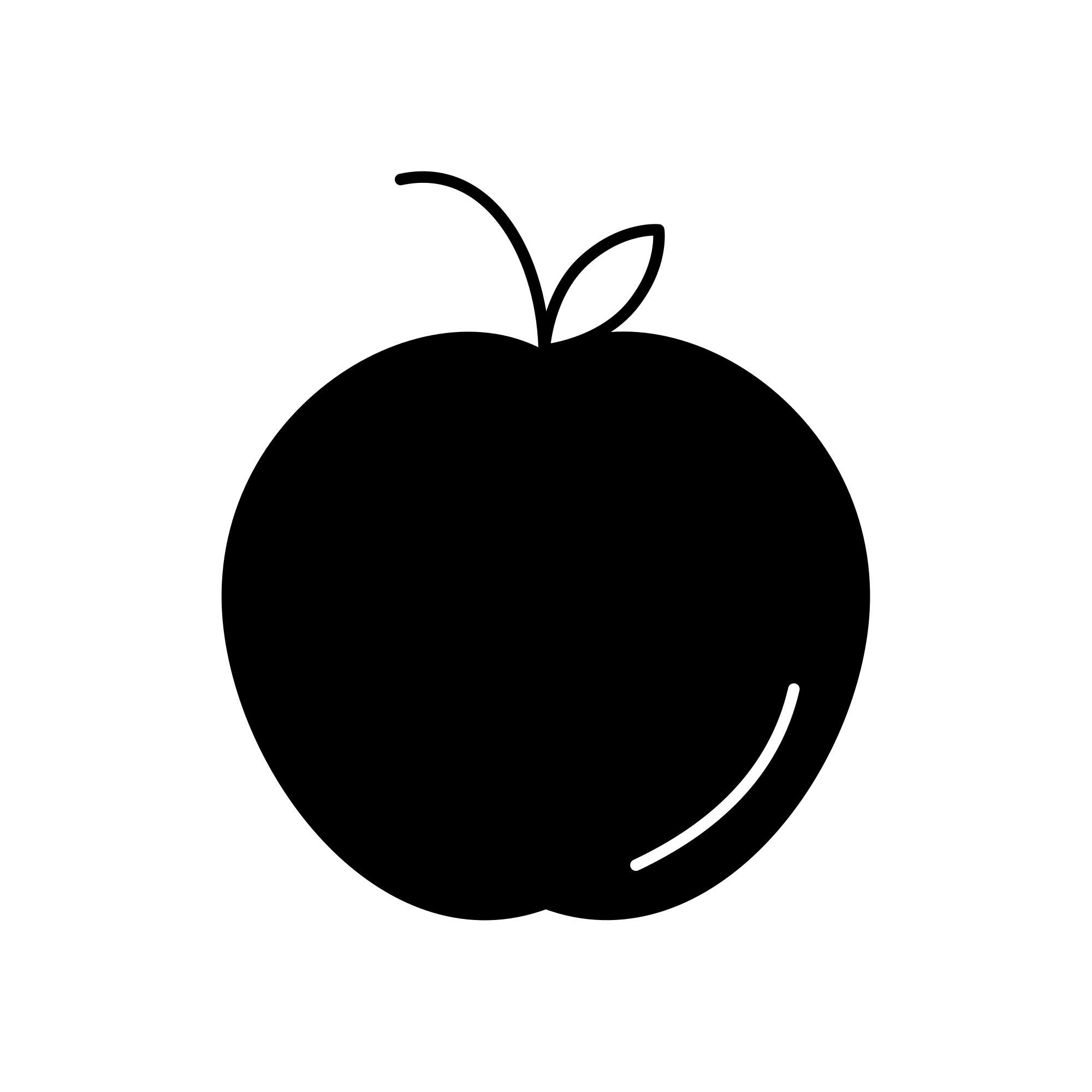 Apple icon png. File black svg wikimedia