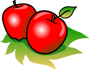 Apples clipart. Panda free images apple