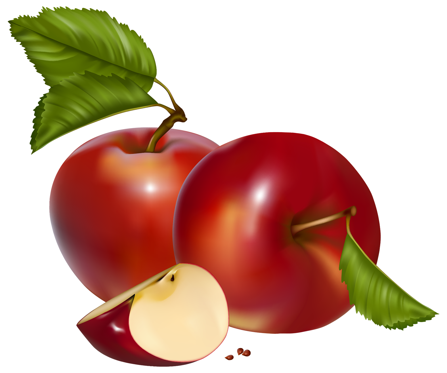 Red apples png best. Fruits clipart borders