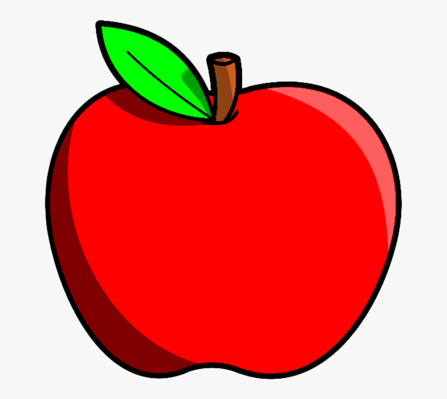 Apples clipart. Fruits apple fruit free