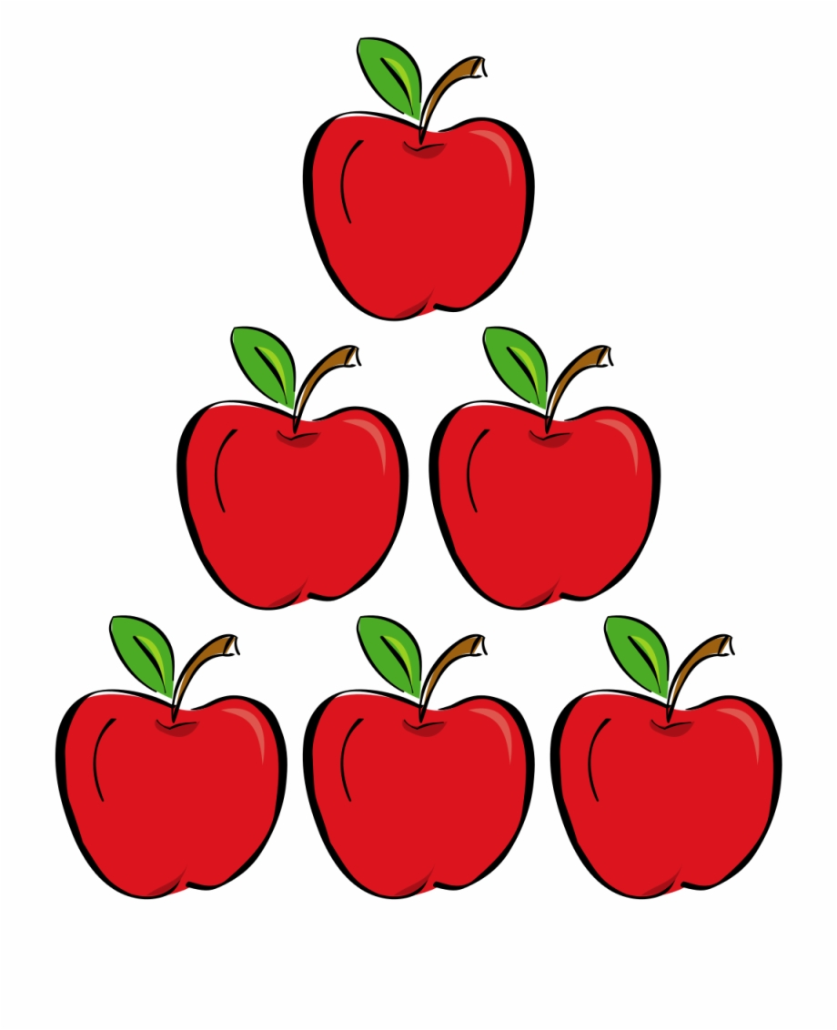 Apple six hd png. Apples clipart