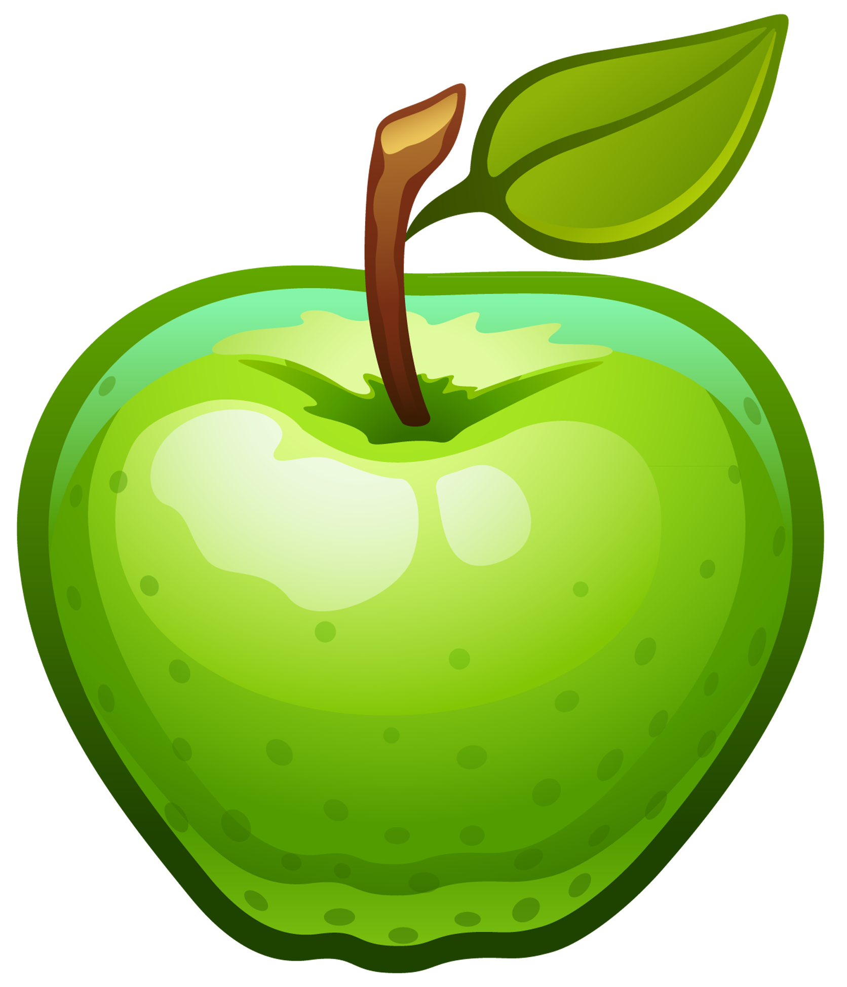 Picture clipart green. October apples clip art