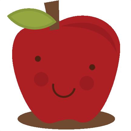 Apples clipart cute. Apple svg file files