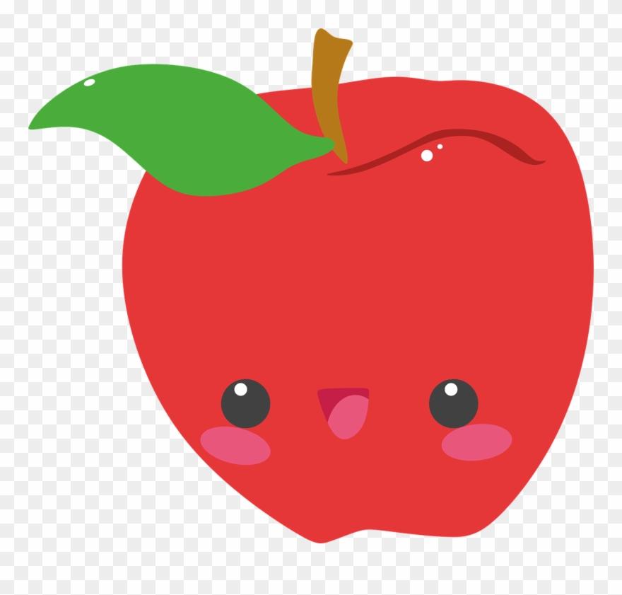 Apple cartoon png pinclipart. Apples clipart cute