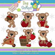 Image result for fall. Apples clipart eye
