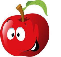 U yj strza ek. Apples clipart eye