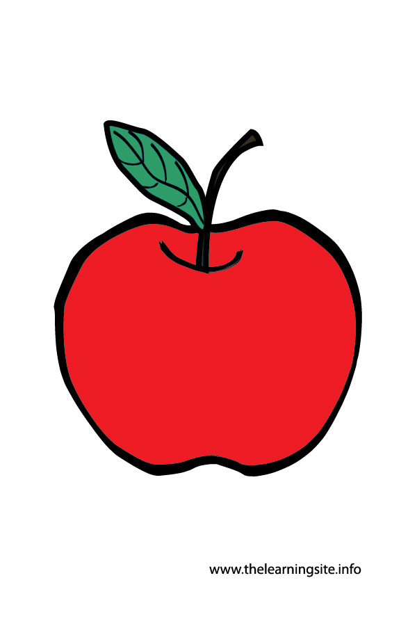 The learning site flashcardapple. Apples clipart flashcard