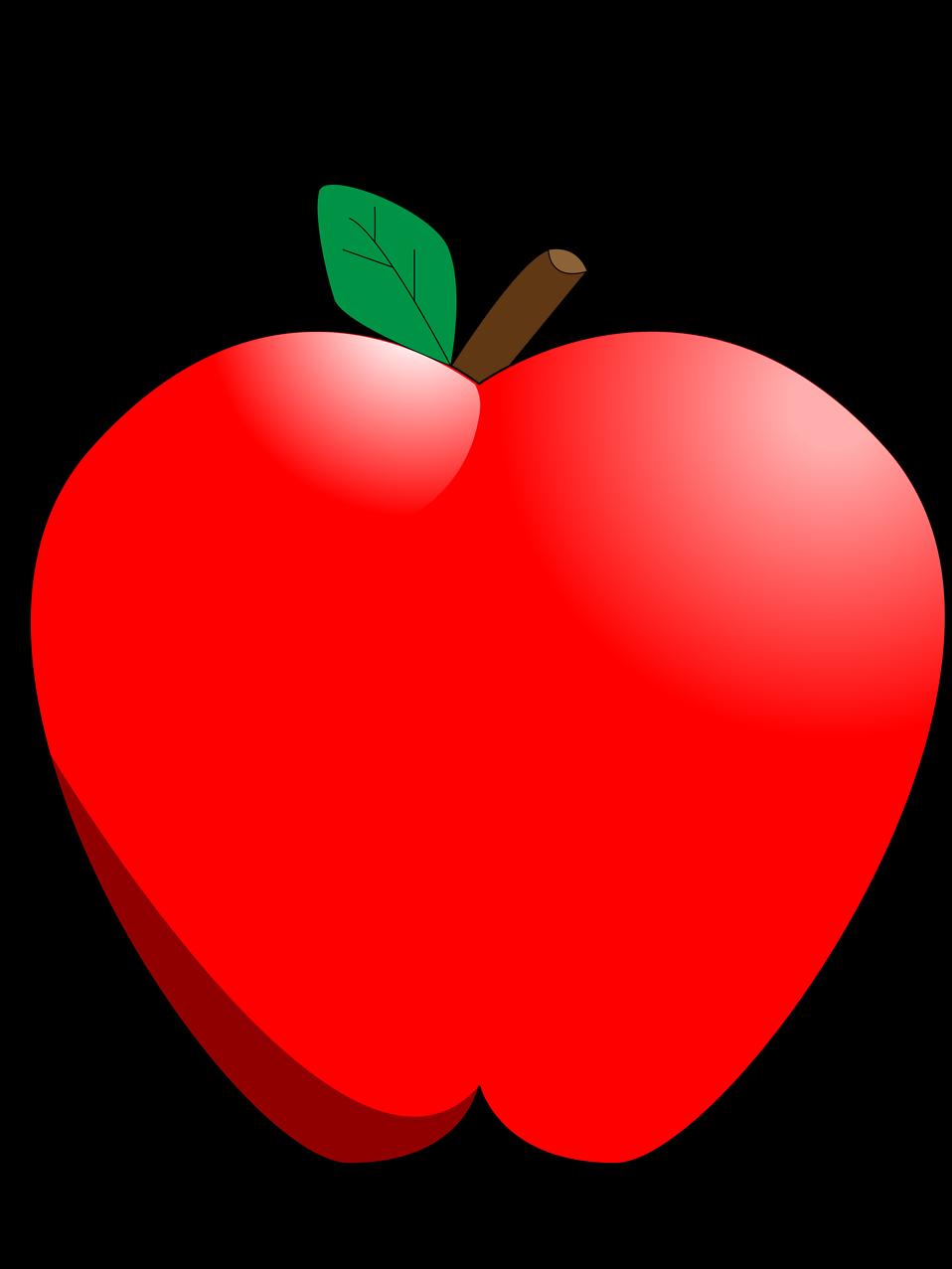 Free stock photo of. Apple clipart illustration