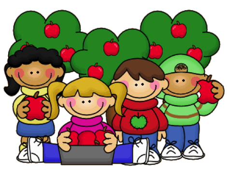 Apples clipart kid.  collection of september