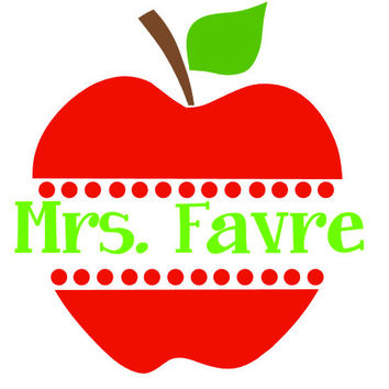 Apple pencil and in. Apples clipart monogram