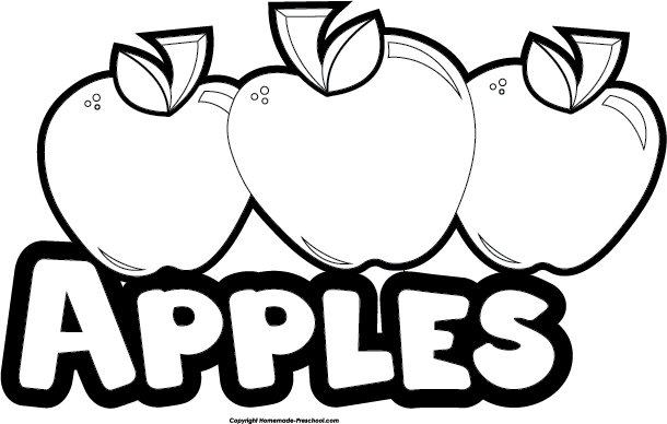Apple clipart name. Free food groups click