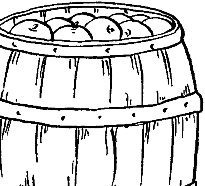 Barrel clipart vintage. Apple image the graphics