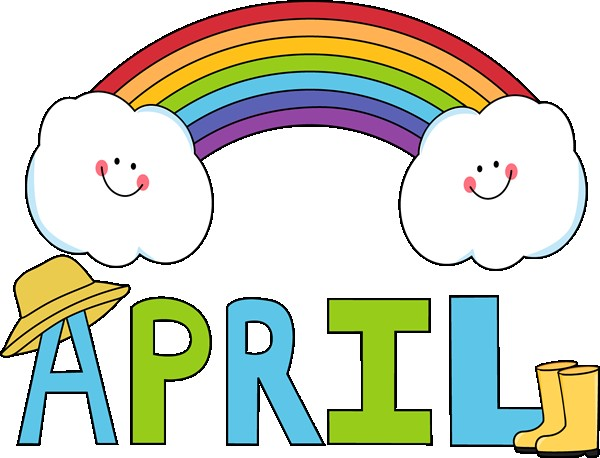 beneficial free calendar. April clipart animated