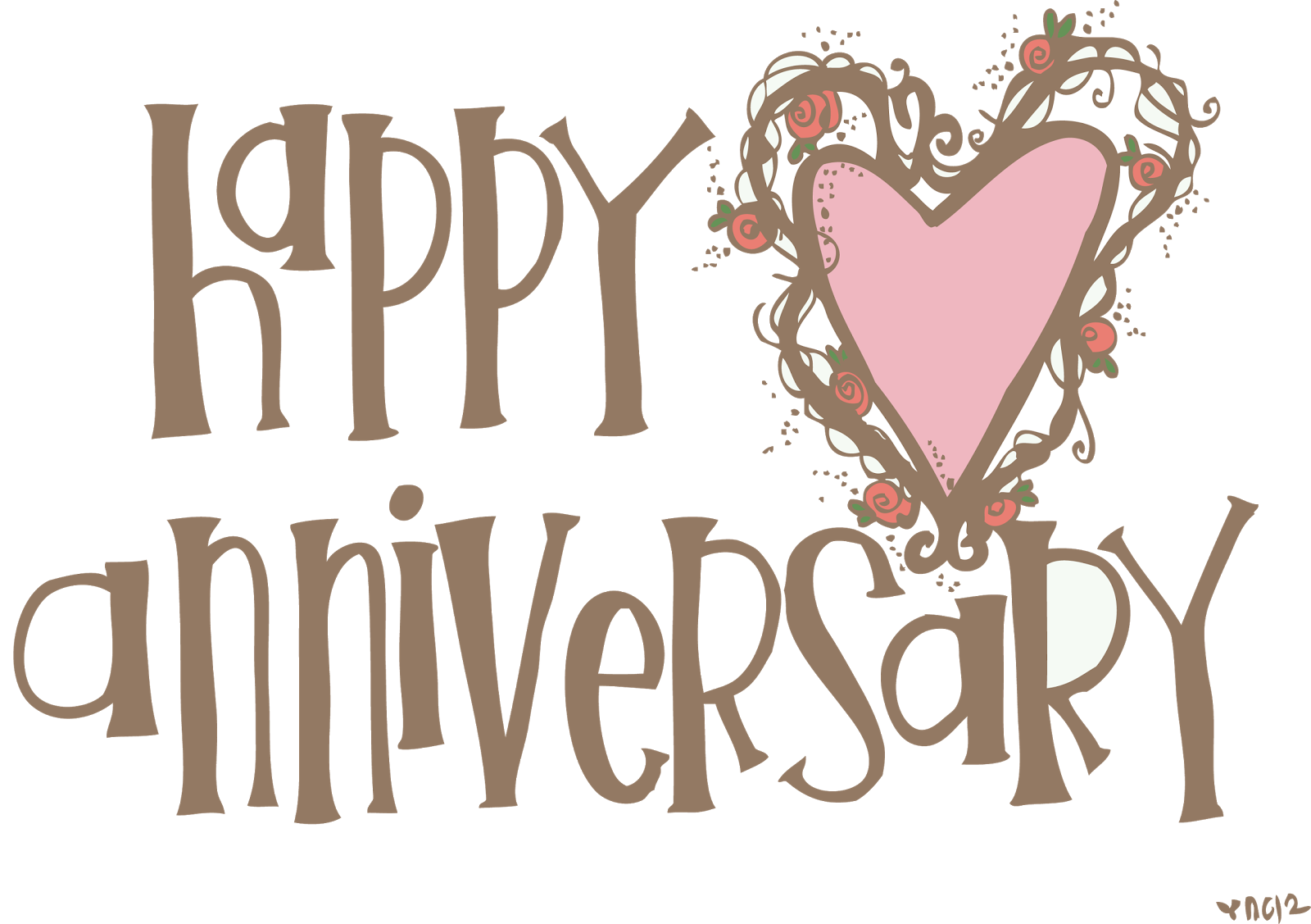 Valentine clipart anniversary. Melonheadz happy on this