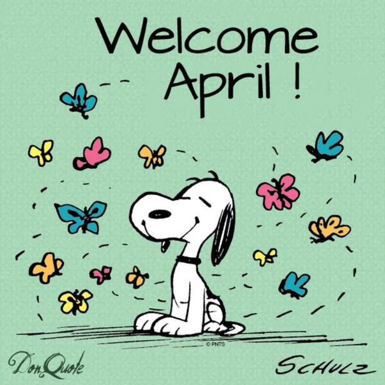 April clipart april 2018. Welcome images and quotes