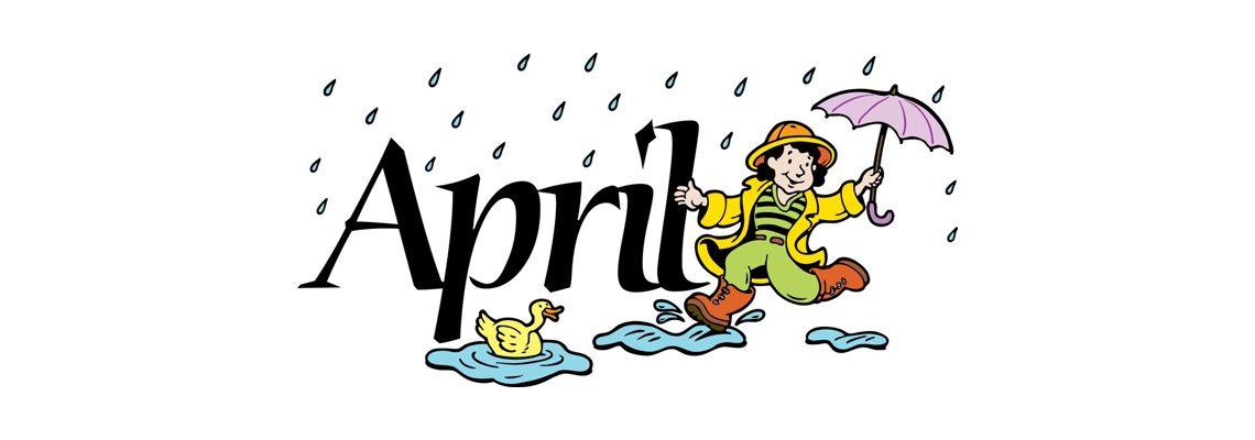 Somerforde residential care . April clipart april 2018