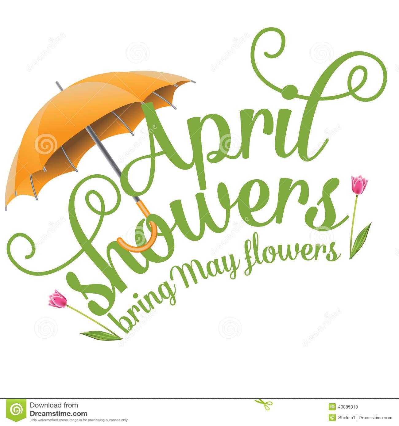 april clipart april shower