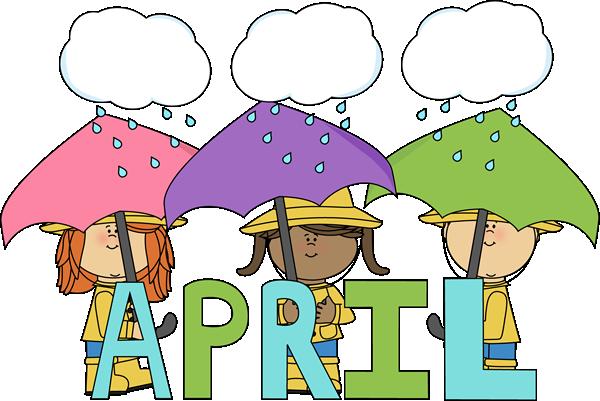 Month of showers clip. April clipart april shower