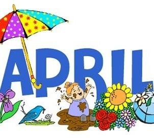 Calendar free download clip. April clipart banner