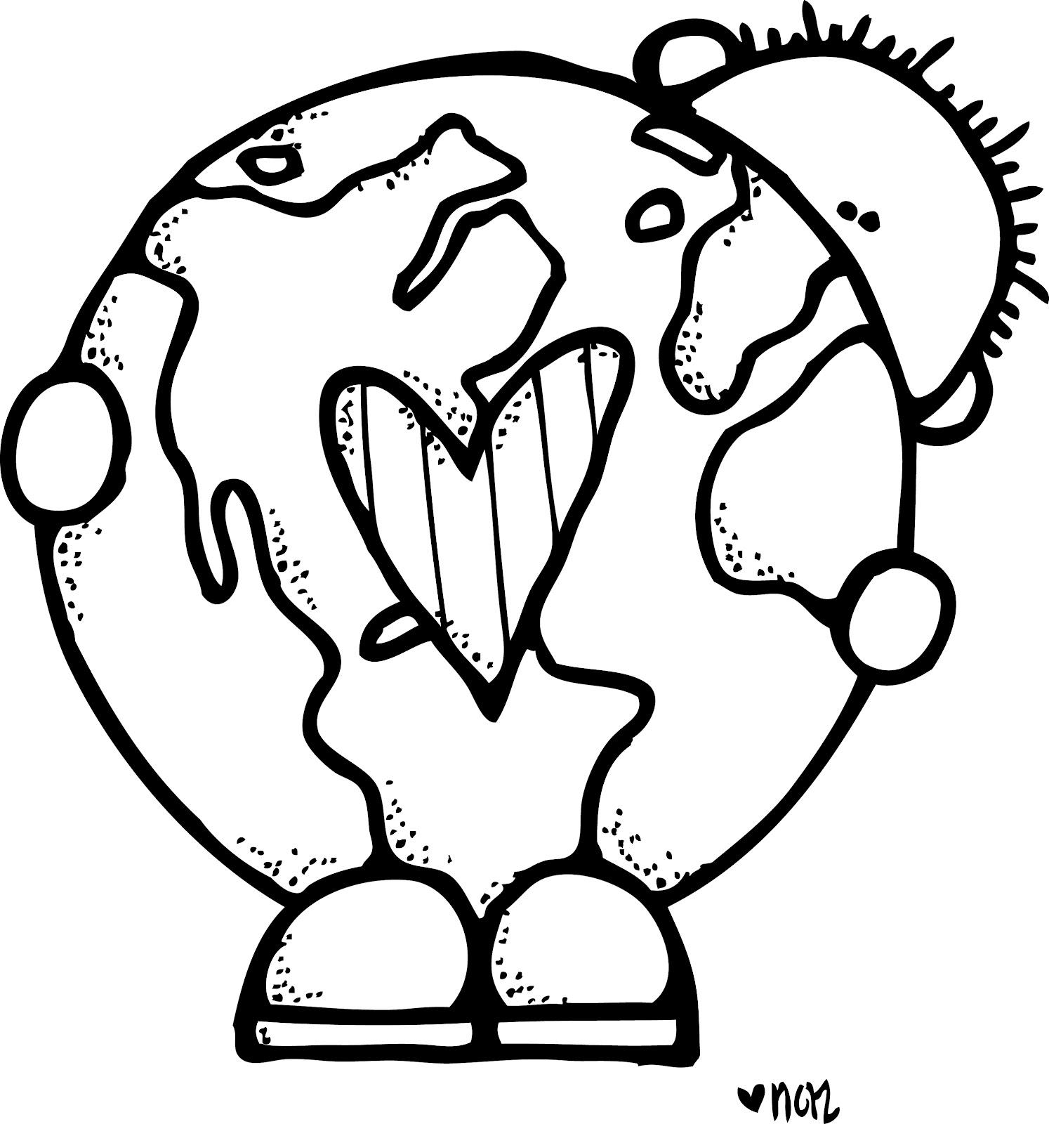 Earth day clipartpedia . April clipart black and white