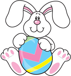 April clipart bunny. Mt sterling community easter