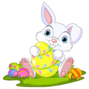 april clipart bunny