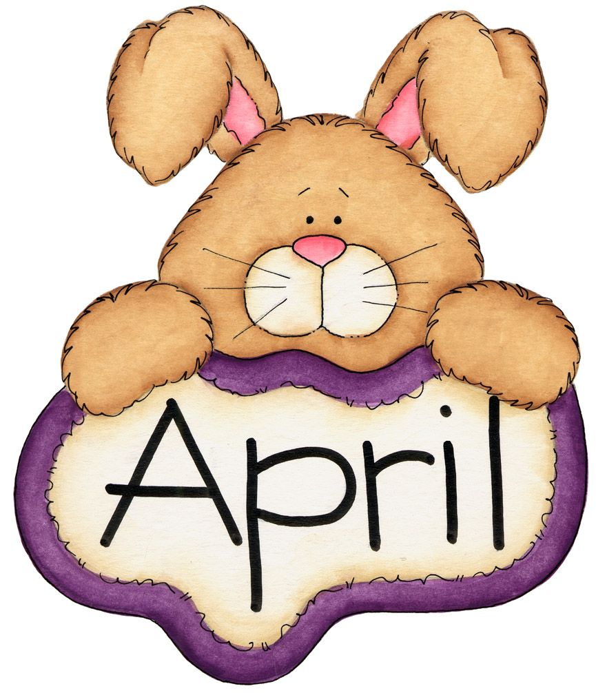 April clipart bunny. Pin by laura doss