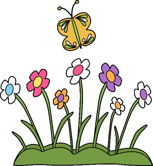 Butterflies clipart summer flower. Butterfly clip art images