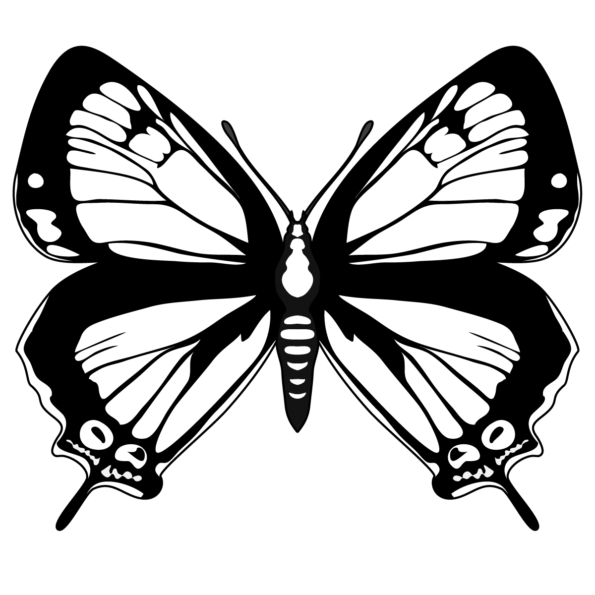 april clipart butterfly