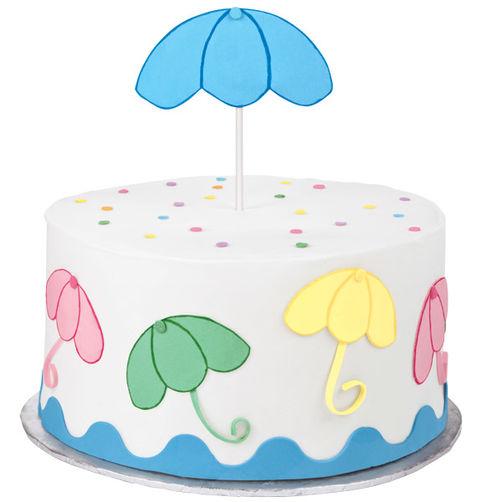 Showers wilton. April clipart cake