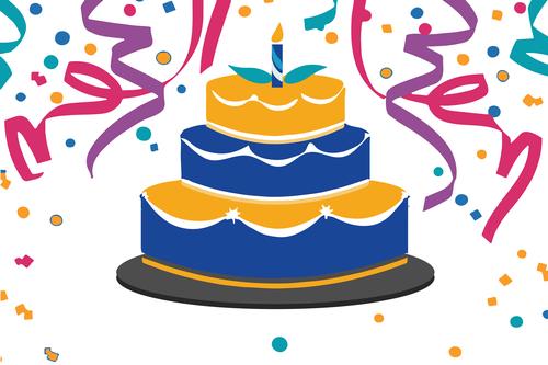 April clipart cake. Birthday celebrants the rotary