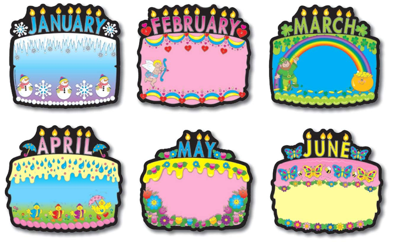 Birthday clip art arts. April clipart cake