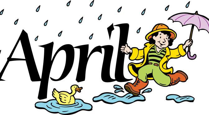 April clipart calendar. Of events woodstock nb