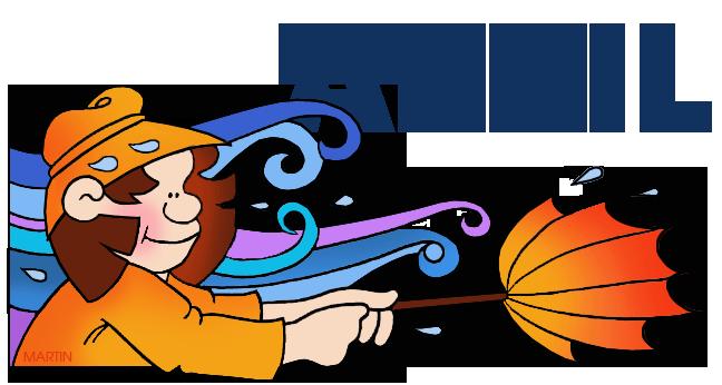 April clipart calendar. Clip art by phillip