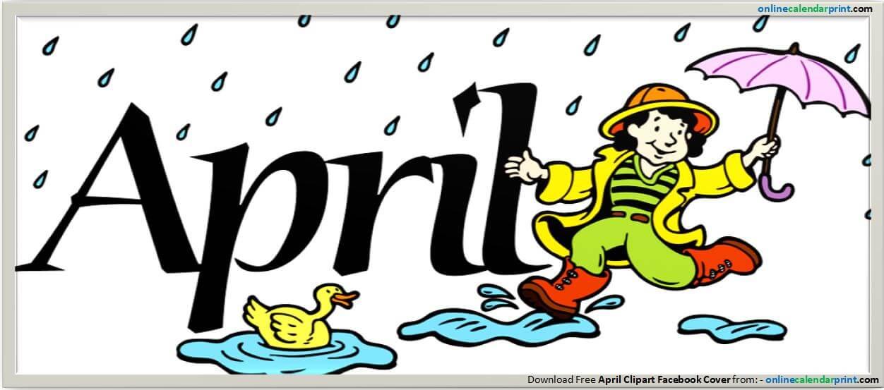 april clipart cartoon