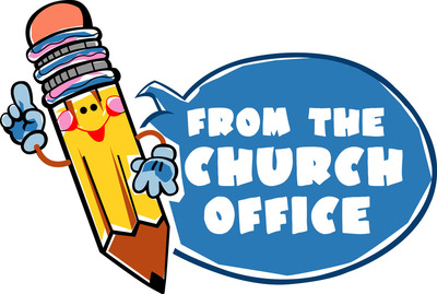 The greeter congregational ucc. Newsletter clipart church office