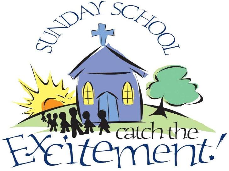 April clipart church. Announcements br