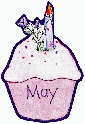 April clipart cupcake. Kind of letters june
