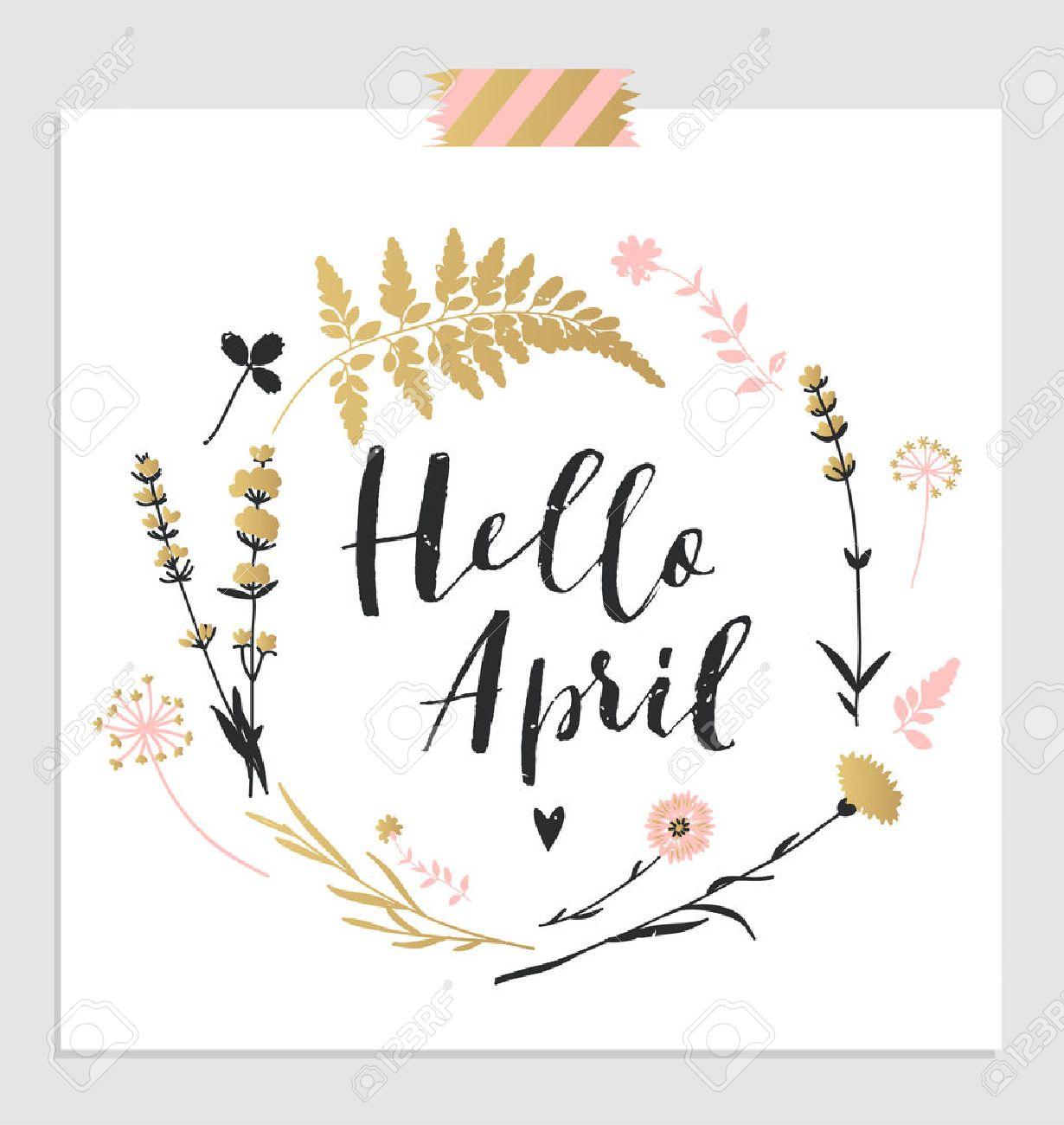 april clipart cute